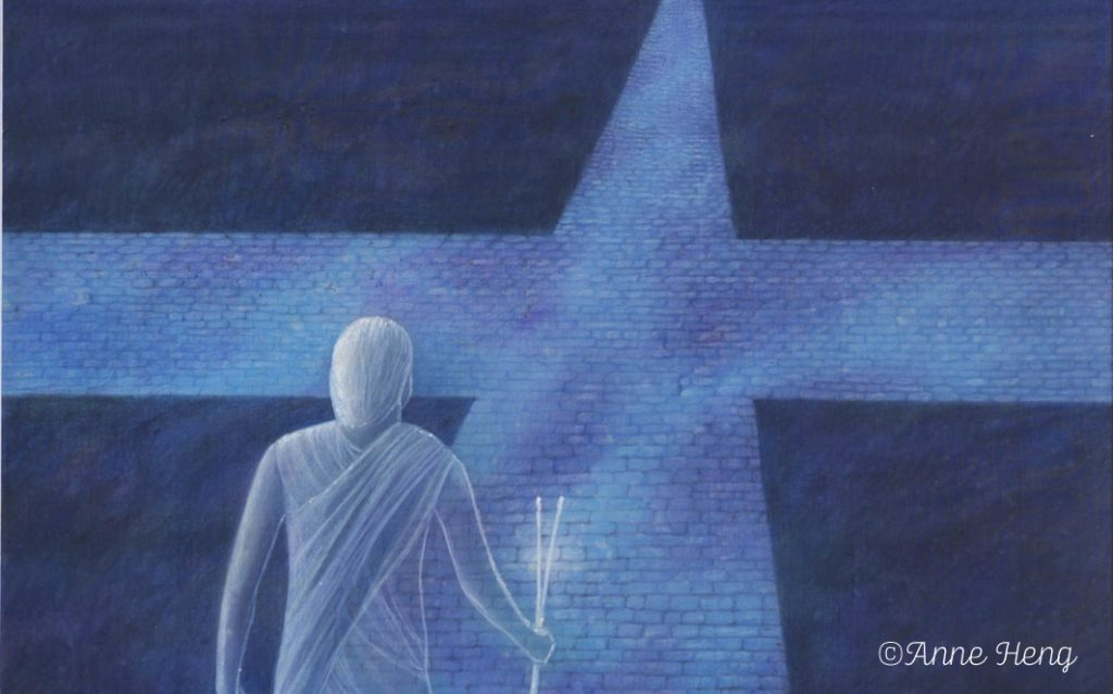 Meine geistige Präsenz in Stille & Give away