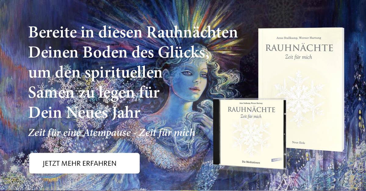 Rauhnacht-Segen <br>Segne Deine kreative Kraft <br>mit der Kraft der 4 Elemente